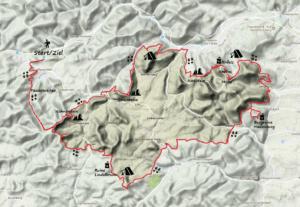 Karte Trifels Trekking