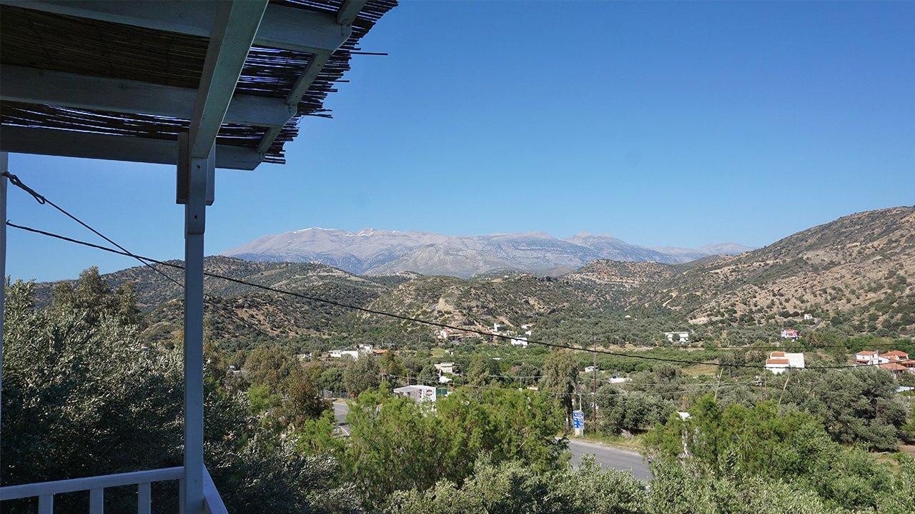 Aussicht Ida Gebirge