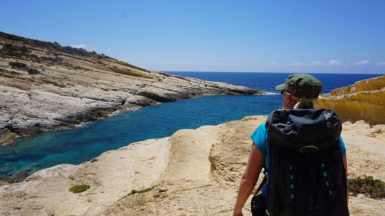 Matala Wanderung