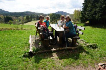 Frauen on Tour – Bärenbrunnertal am 15.04.2018