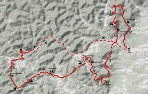 Landkarte Wasgau