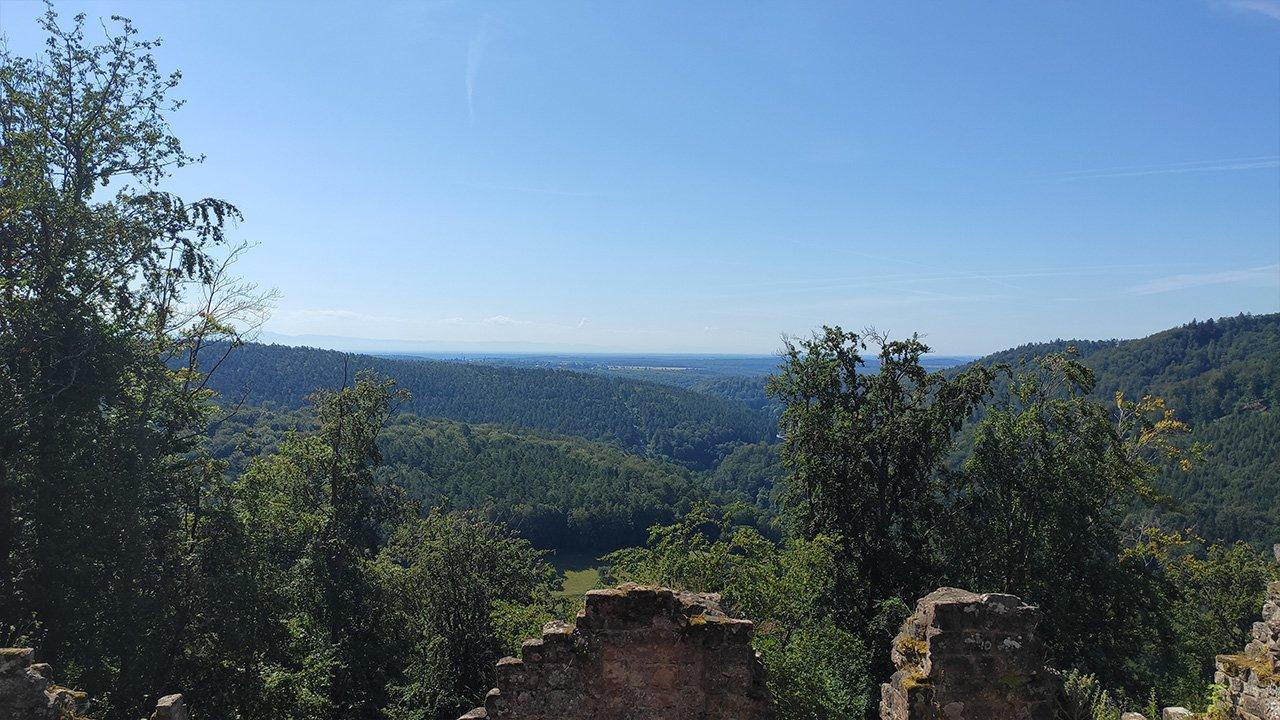 Aussicht Windstein