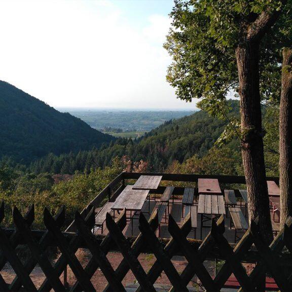 Blick Kiesbuckelhütte